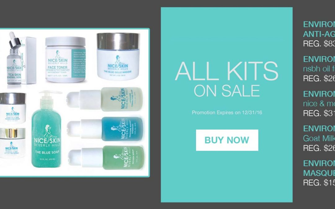 Skin Care Kits on Sale Now!!!